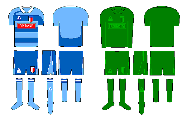 Stoke City Away and Gk Kit Designs