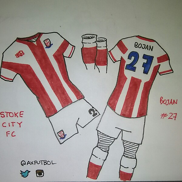 Stoke City FC. New Balance