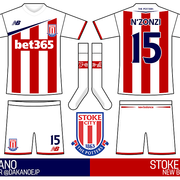 Stoke City Home / New Balance