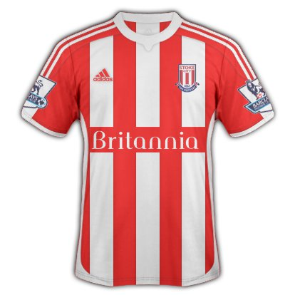 Stoke City Home Kit