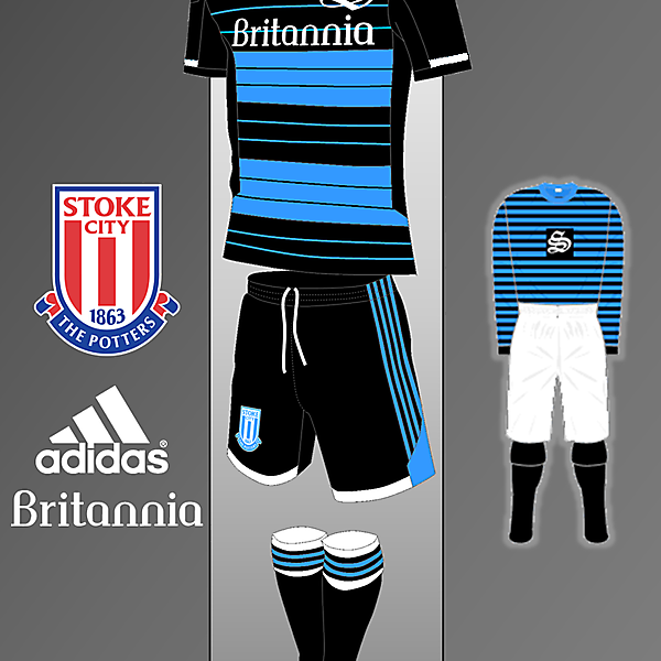 Stoke City adidas kit Inspired by 1882-1883 Kit