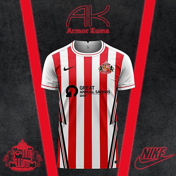 Sunderland AFC Nike Home Kit