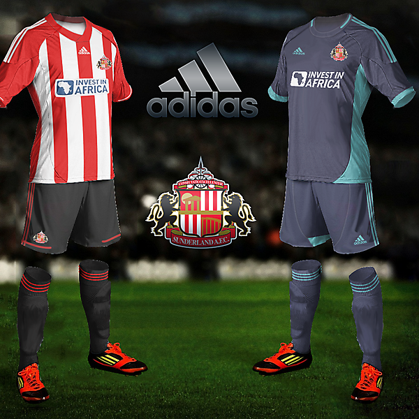 Sunderland Home/Away 2012/13