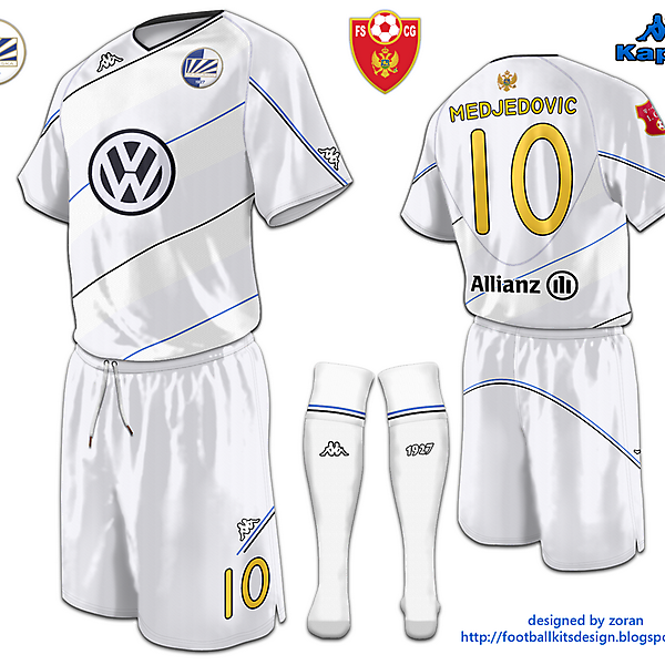 Kappa FK Sutjeska Away Shirt