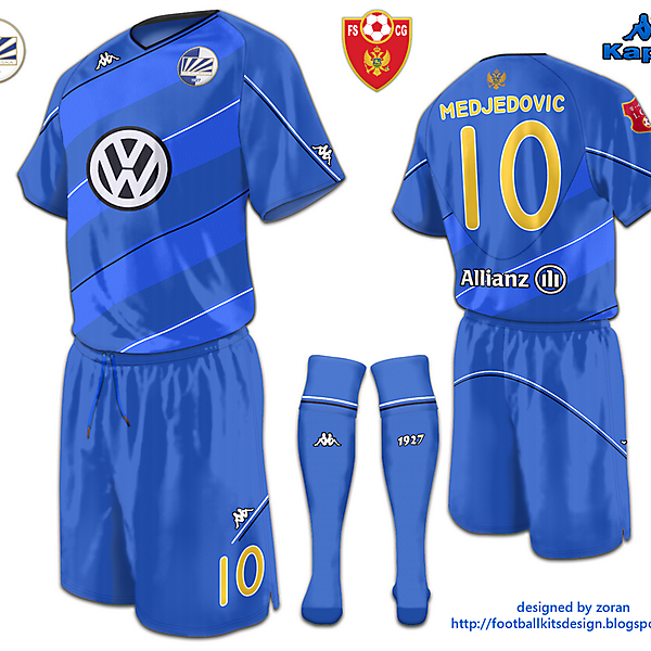 Kappa FK Sutjeska Third Strip