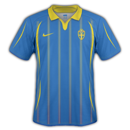 Sweden 2010 Away Shirt