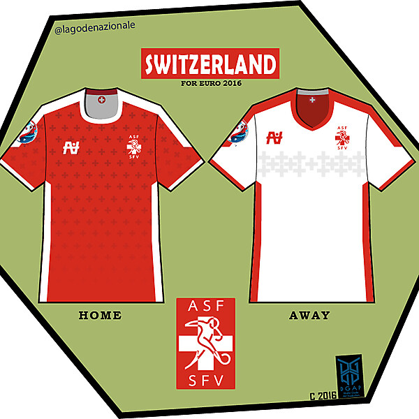 Switzerland Euro 2016 Fantasy Kit