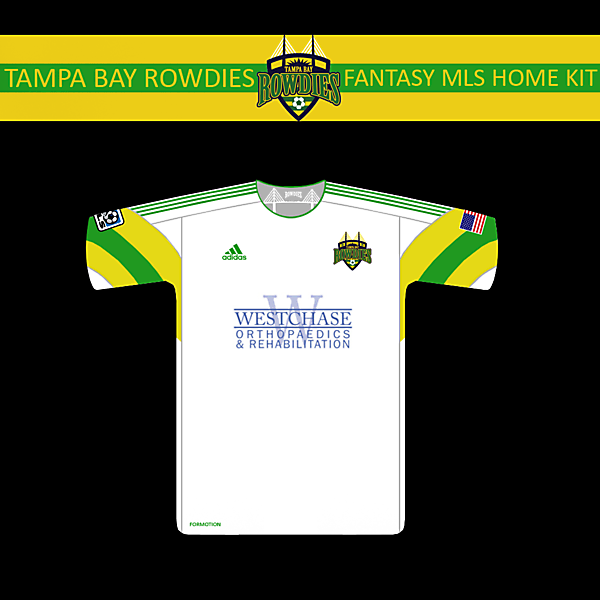 TB Rowdies MLS Home kit