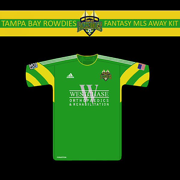 TB Rowdies MLS Away kit