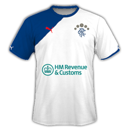 THE RANGERS FC AWAY KIT