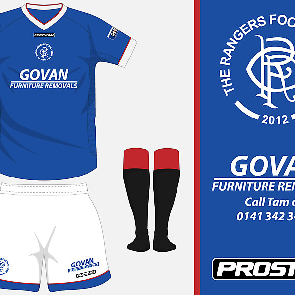 The Rangers FC - Home Kit
