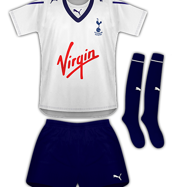 Tottenham Hotspur Home Kit 09/11