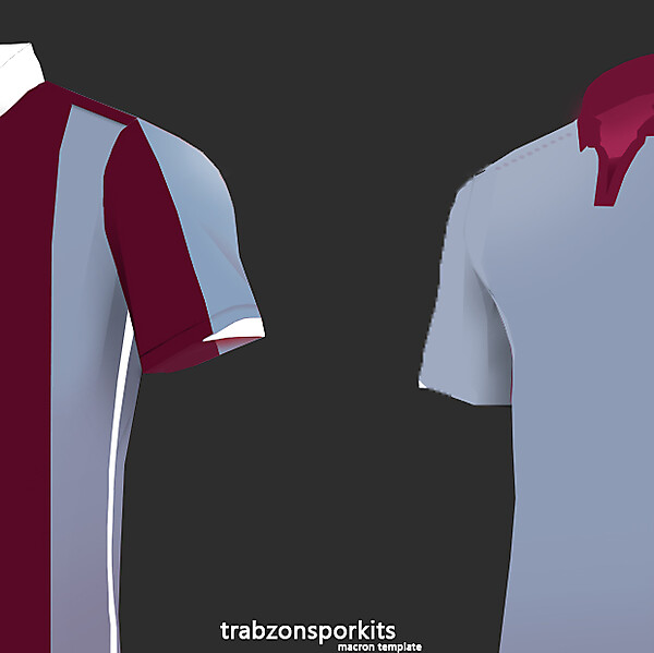 Trabzonspor Macron - Design Leaked