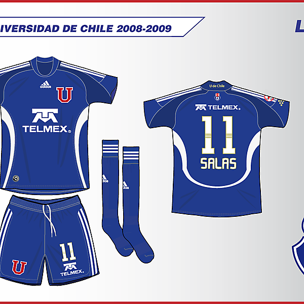 Universidad de Chile 2009 - adidas