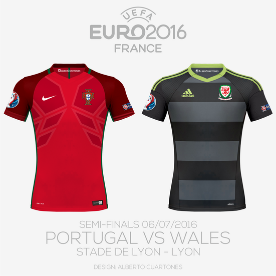 UEFA EURO 2016™ Semi-Finals | Portugal vs Wales