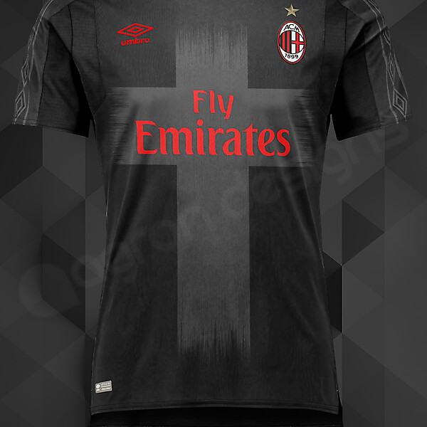 UMBRO_MILAN THIRD KIT CONCEPT