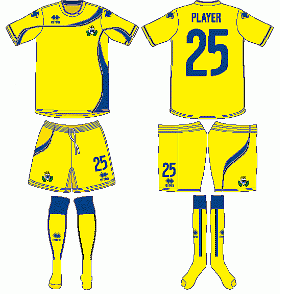 AD Alcorcon Errea Home Kit