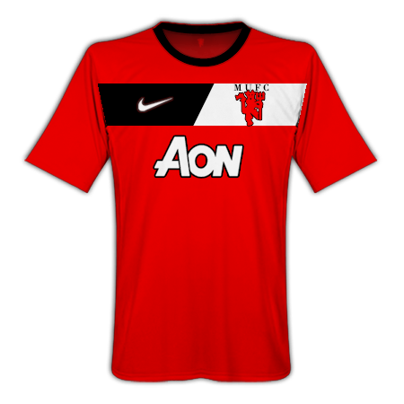 Manchester United Home Barca Style