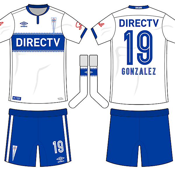 Universidad Católica Home kit