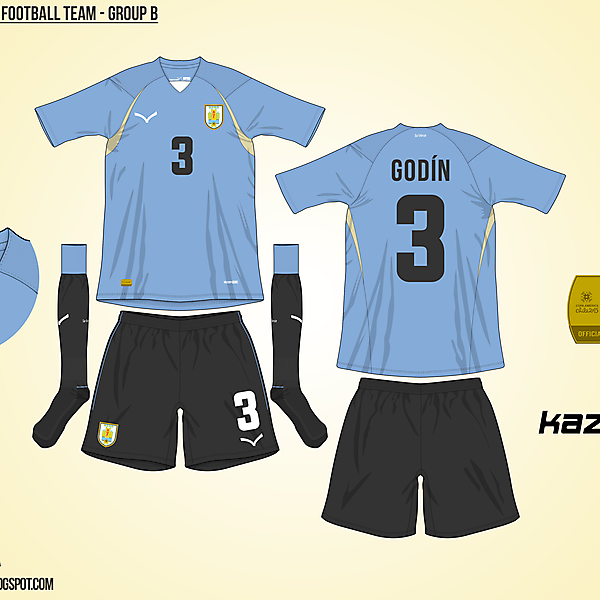Uruguay Home - Group B, 2015 Copa América