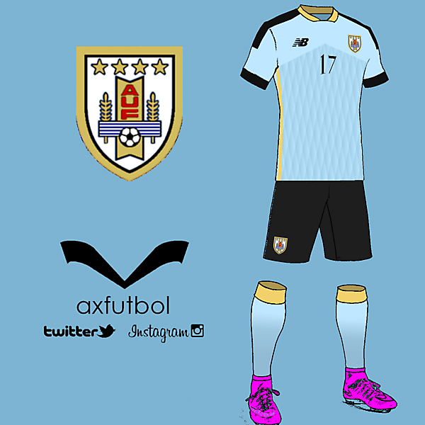 Uruguay home kit design