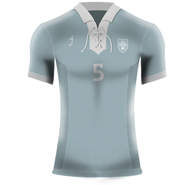 Uruguay home kit (Retro) by J-sports