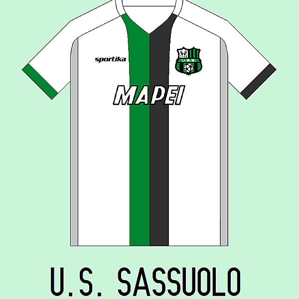 U.S. Sassuolo Away Kit...