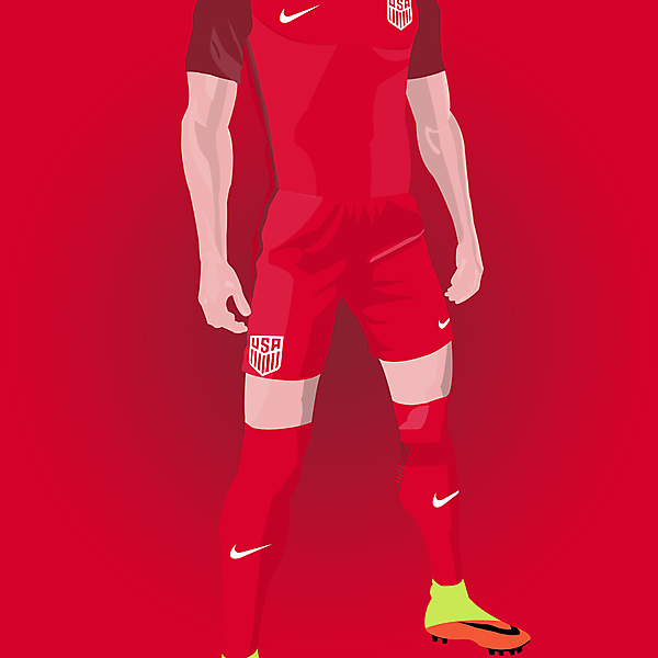 USA - Third kit