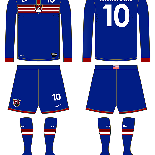 USA Fantasy Away Kit