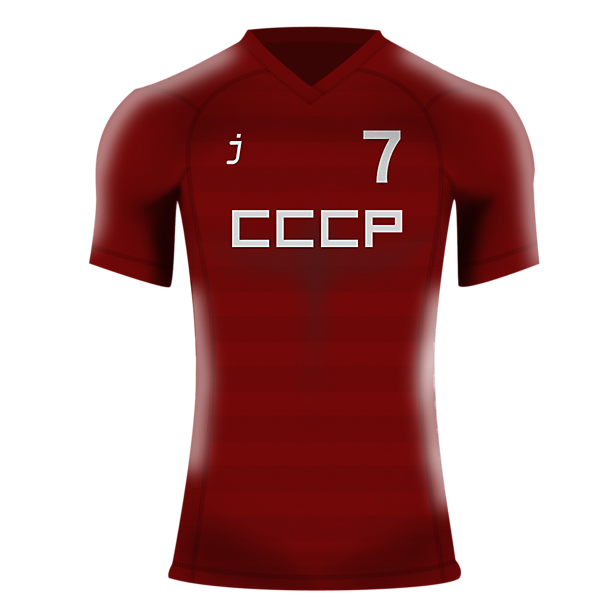 USSR home jersey by j_sports