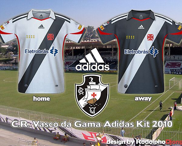 Vasco da Gama Fantasy Kit - Adidas - 2010