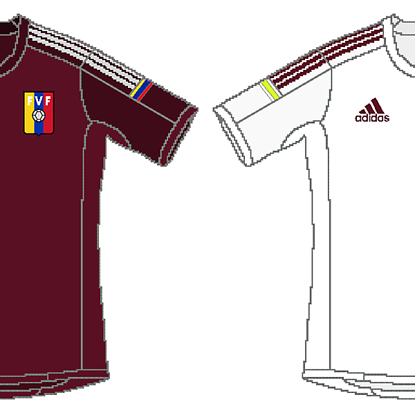 Venezuela Adidas Home and Away