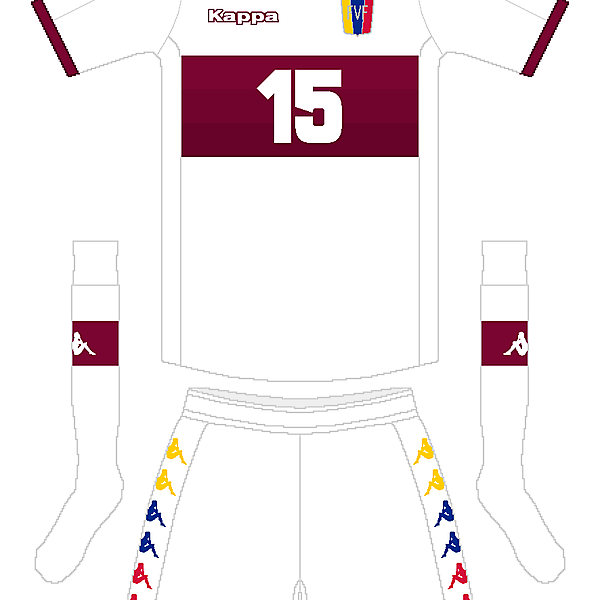 Venezuela Kappa Away Kit