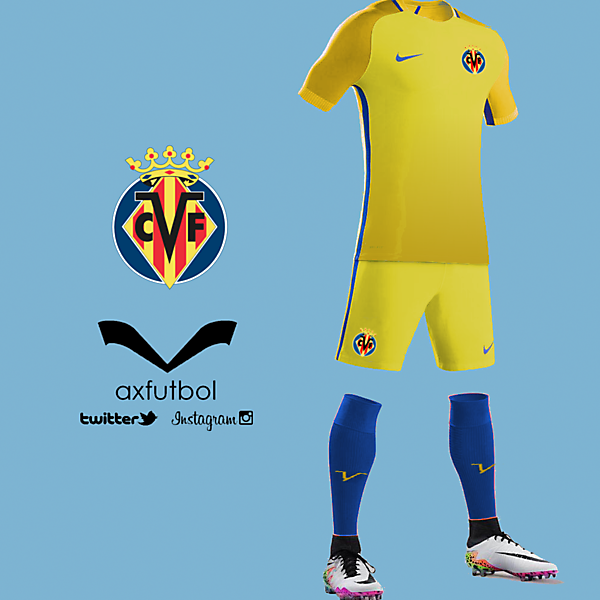 Villarreal nike kit design