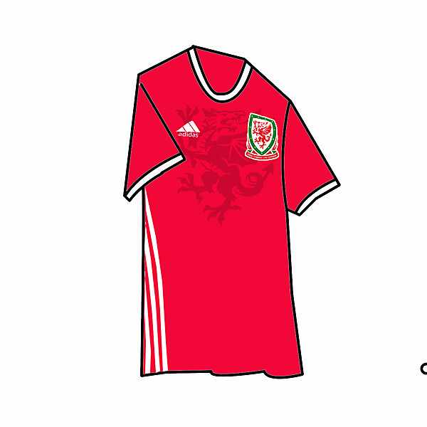 Wales Kit Home 2017