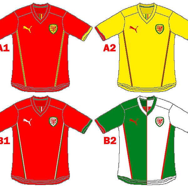 Wales Puma Home and Away