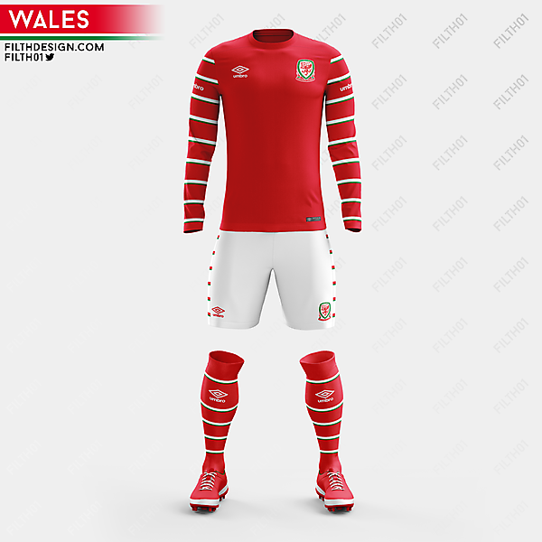 Wales x Umbro | Home Kit