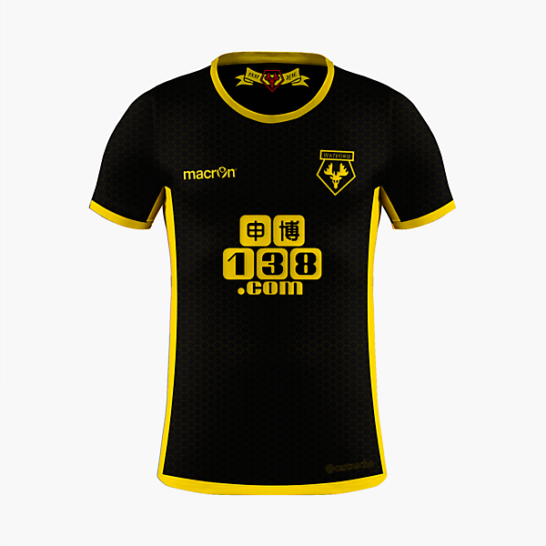 Watford FC - Macron Away Kit