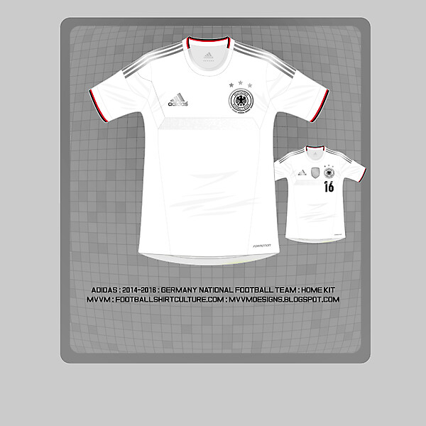 2014 Adidas Germany World Cup Home Kit