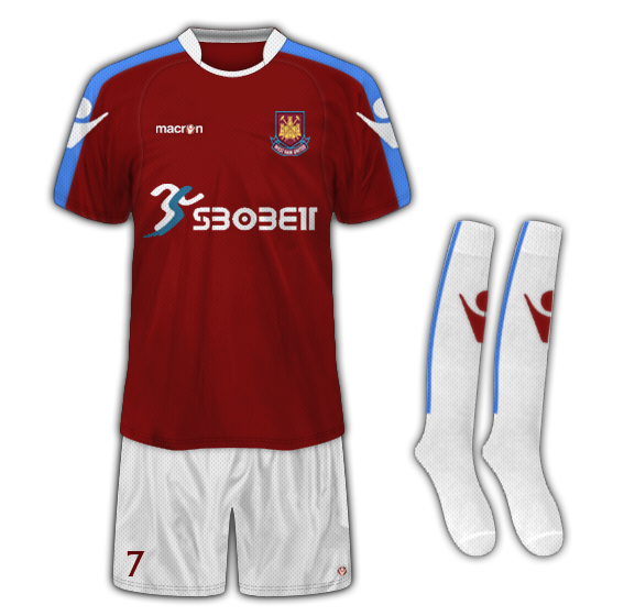 West Ham Macron Fantasy Kit