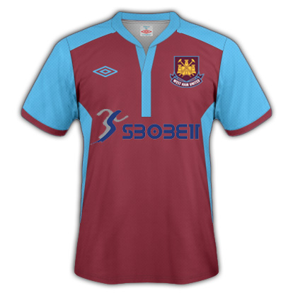 West Ham Jersey (Umbro) Home & Away