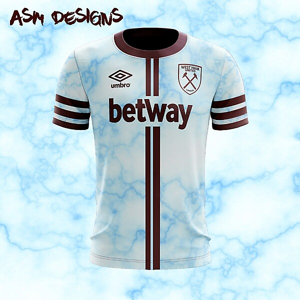 West Ham United F.C. 2018 Umbro Away Kit