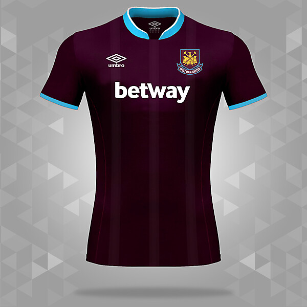 West Ham United Umbro Kit