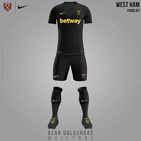 West Ham United x Nike | 3rd