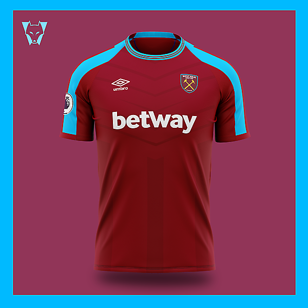 West Ham x Umbro home concept