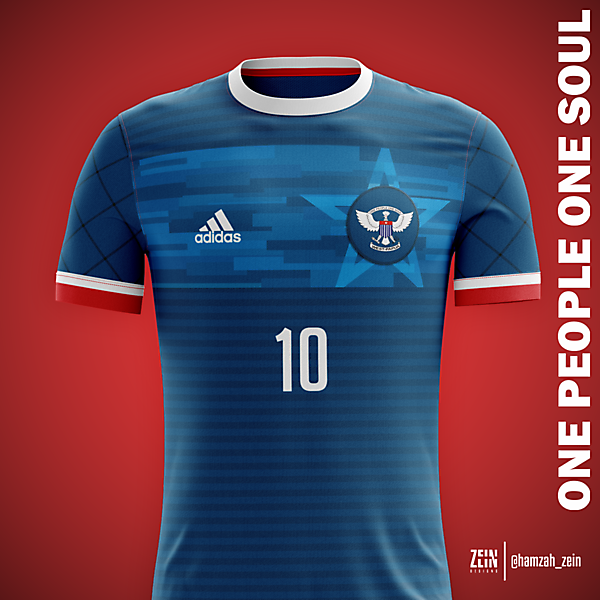 West Papua Home Kit : World Cup Concept