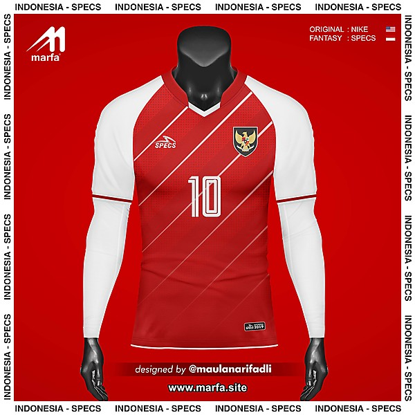 WHAT IF INDONESIA NT JERSEY SPONSORED BY LOCAL APPAREL