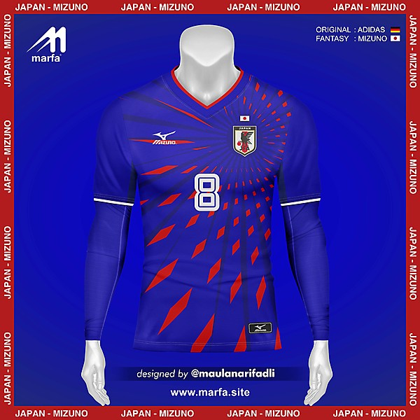 WHAT IF JAPAN NT JERSEY SPONSORED BY LOCAL APPAREL