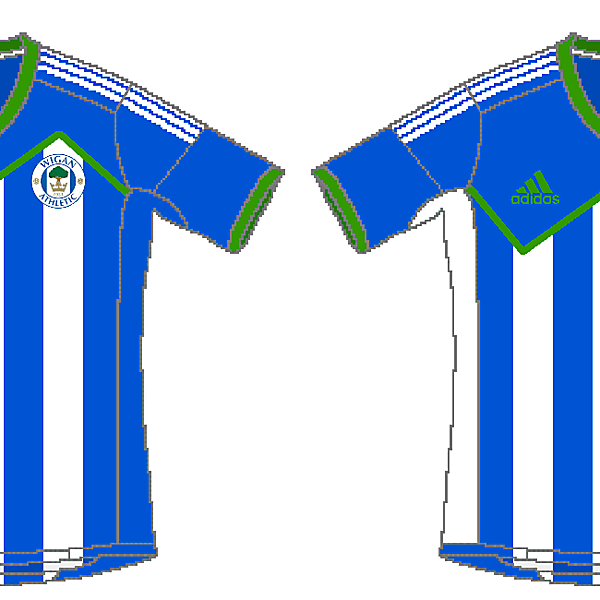 Wigan Athletic Adidas Home