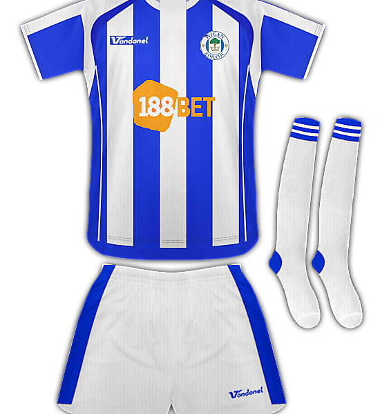Wigan Athletic Home Kit